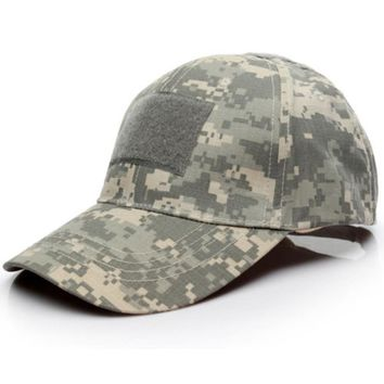 Trendy Winter Jacket Men Baseball Cap Tactical Army Camouflage Snapback Hat Special Force  Outdoor Camo  Hunt Camping Casual Cap AT_92_12