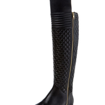 Melina Over The Knee Quilted Boot