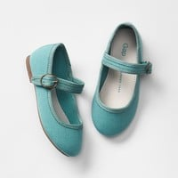 Gap Baby Canvas Mary Jane Flats