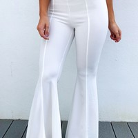 Dressed For Success Pants: White