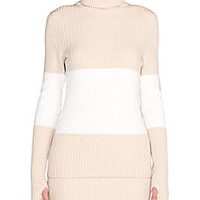 Fendi - Stretch Cashmere Turtleneck Sweater - Saks Fifth Avenue Mobile