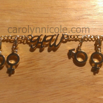 HotWife Anklet by Carolyn Nicole Designs