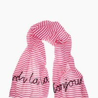 ooh la la embroidered scarf - kate spade new york