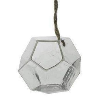 Dodecahedron Hanging Vase