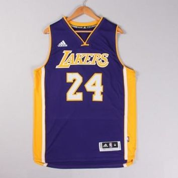 Adidas Kobe Bryant Men's Jersey  NBA Los Angeles Lakers #24