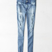 AEO 's Sky High Jegging (Medium Destroyed)