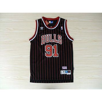 Nba Chicago Bulls #91 Dennis Rodman Bulls Swingman Jersey | Best Deal Online