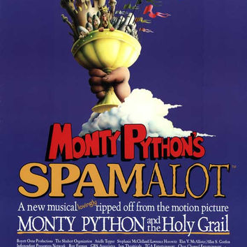Spamalot 11x17 Broadway Show Poster