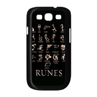 EVA Mortal Instruments Samsung Galaxy S3 I9300 Case,Snap-On Protector Hard Cover for Galaxy S3