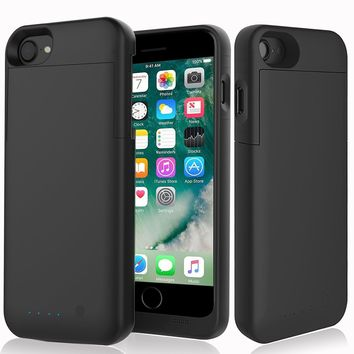 Apple MFi Power Bank Backup Battery Case Charger For iPhone 5 5S SE 6 6S 7 Plus
