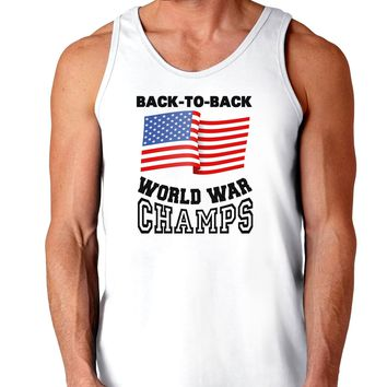 Back to Back World War Champs Loose Tank Top