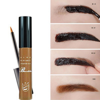 Hot Peel Off Makeup Eyebrow Tattoo Crayon Sourcil Dark Brown Black sombra marrom Waterproof Eye Brow henna Tint Gel Makeup
