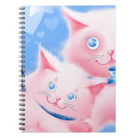 Pink Cats Notebook