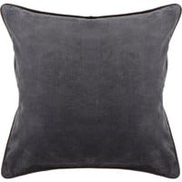 Handmade Contemporary Pillows (Without Down) Cotton/Velvet (1'6 X 1'6)