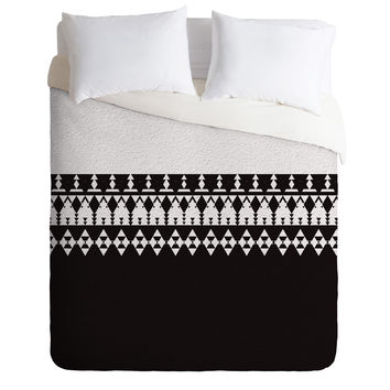 Viviana Gonzalez Black and white collection 04 Duvet Cover