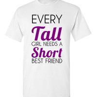 Every Tall Girl Needs a Short Best Friend