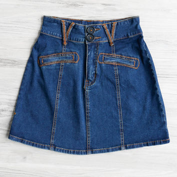 Somedays Lovin Peggy Sue Denim Skirt
