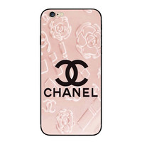 Chanel Fashion Print iPhone Phone Cover Case For iphone 6 6s 6plus 6s-plus 7 7plus