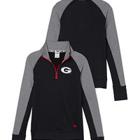 University of Georgia Ultiamte Half-Zip - PINK - Victoria's Secret