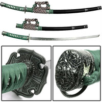 Japanese Samurai Swords Series - 39 Inch Green Jintachi