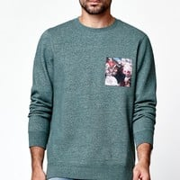 Busta Pocket Crew Neck Sweatshirt
