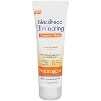 Neutrogena Blackhead Eliminating Cleanser/Mask, 4 fl oz - Walmart.com