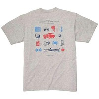 Defender of the South Tee in Grey by Southern Proper