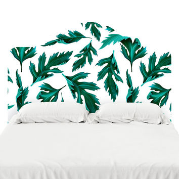 Falling Fern Headboard Decal