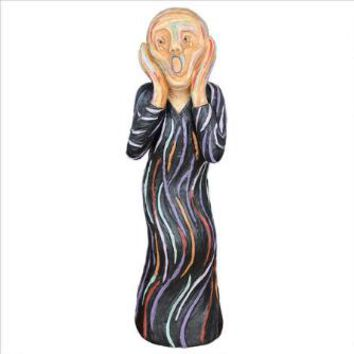 Desktop The Silent Scream Statue - Design Toscano