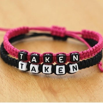 Couples Bracelets His and Hers Personalized Bracelet = 1697599620
