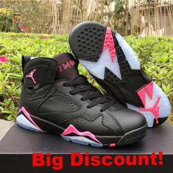 "Air Jordan 7 GS ""Hyper Pink"" Nike Jordan Women's Basketball Shoe"