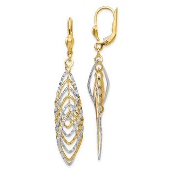 413fe ac905 white gold and yellow gold earrings wanelo.co buy best ... d990c2612