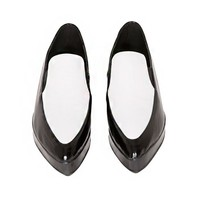 Black and White Pointed Platforms