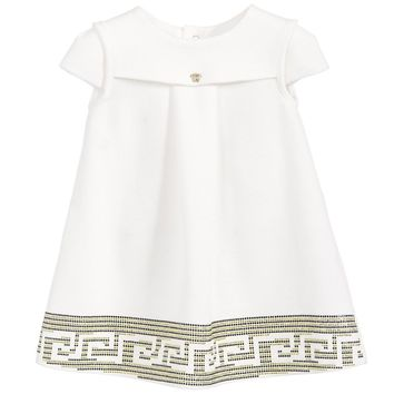 Versace Baby Girls Greca Dress