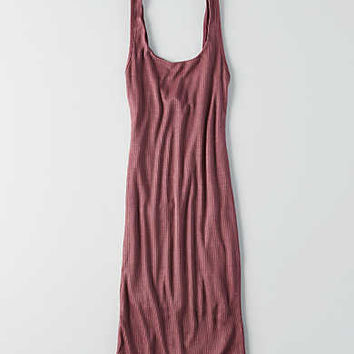 Don't Ask Why Ribbed Tank Dress, Burgundy1