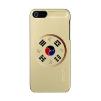 Taegeuk, Taiji, the Great Ultimate, the yin-yang Metallic Phone Case For iPhone SE/5/5s