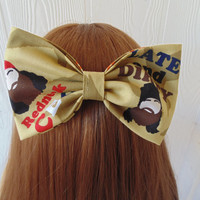 Duck Dynasty hair bow / duck dynasty / the robertsons / Phil robertson / Si robertson / bow / girls hair bow clip / duck dynasty hair clip