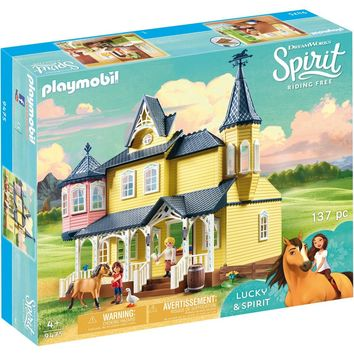 Playmobil 9475 Lucky's Happy Home