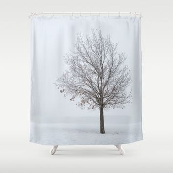 It's OK To Stand Alone Shower Curtain by Gallery One