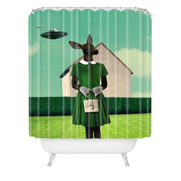 Natt Polaroid Shower Curtain