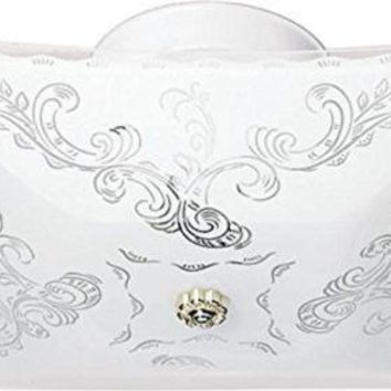 """Nuvo 77-126 - 12"""" Close-To-Ceiling Semi Flush Mount Ceiling Light"""