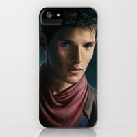Merlin iPhone & iPod Case by Angela Taratuta | Society6
