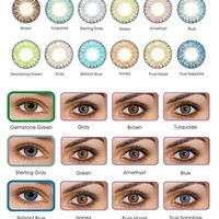 Vibrant Color Contacts Eye Lenses Colorblends Cosmetic Makeup