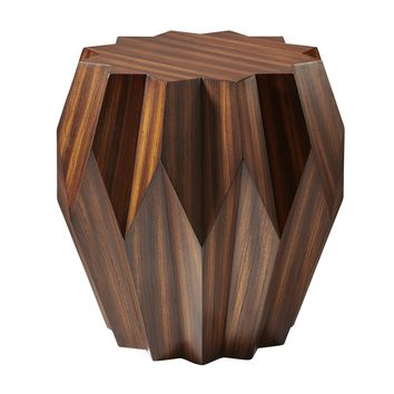 Origami Wood Side Table