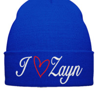 i love zayn Bucket Hat - Beanie Cuffed Knit Cap