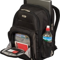 Targus Checkpoint-Friendly Air Traveler Backpack for 16-Inch Laptop, Black (TBB012US)