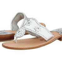 Jack Rogers Hamptons Classic Navajo Flat Silver - Zappos.com Free Shipping BOTH Ways