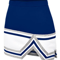 Tri-Color Stunt Cheerleader Uniform Skirt - Part of Chasse Cheer's New Sideline Collection for Cheerleading