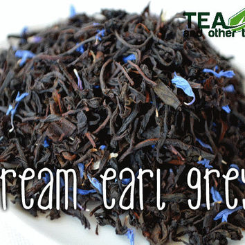 50g Cream Earl Grey - Loose Black Tea
