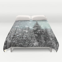 Snow Duvet Cover by Pure Nature Photos | Society6
